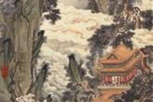 张若霭是在何种时代背景下画出《蓬莱仙阁图》的