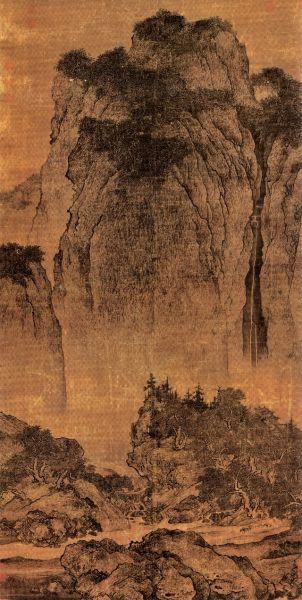 北宋范宽传世名作《溪山行旅图》赏析
