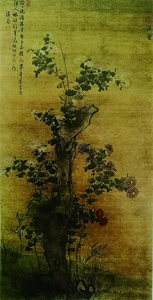朱翊鈏与他的《菊花图》