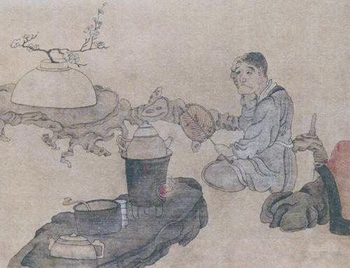 明末陈洪绶的高古绘画 花事与佛心