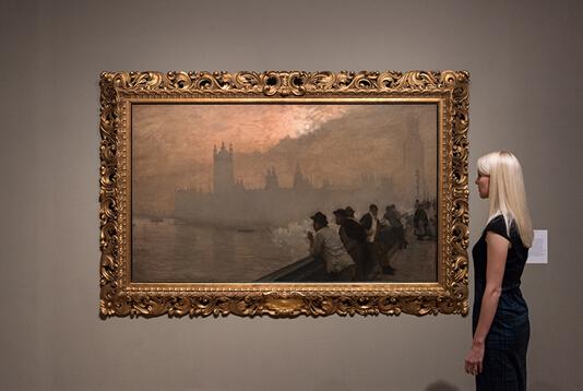 泰特美术馆展览讲述法国艺术家赴英躲避战事的历史