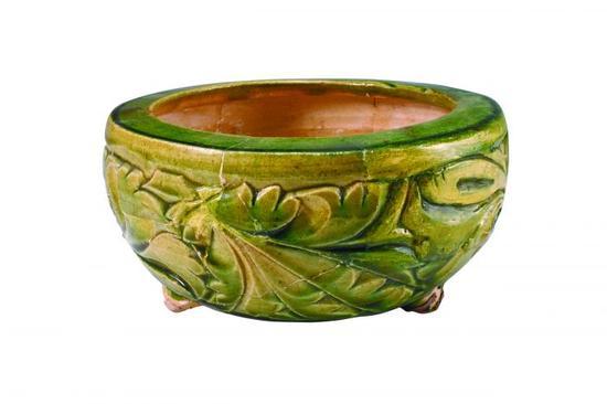赏析一组馆藏绿釉瓷器