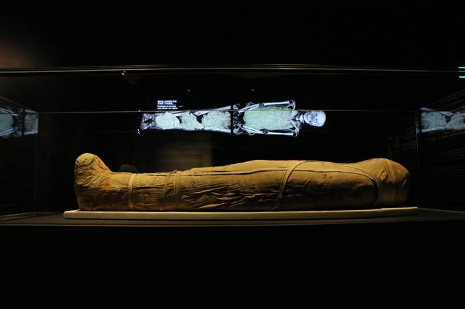 """大英博物馆文物在台展出 扫描技术展示""""活""""的木乃伊"""