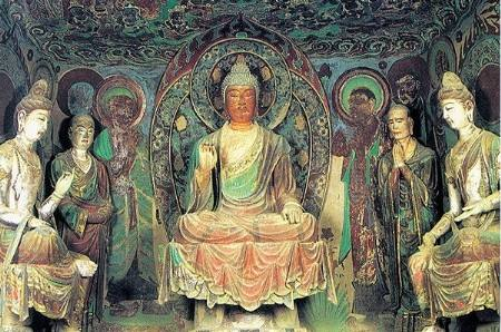 敦煌莫高窟北朝时期佛陀造像袈裟色彩分析