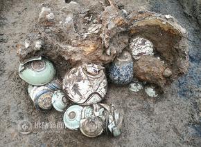 灵璧出土一批金元时期窖藏瓷器