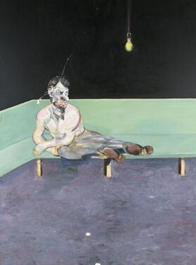 培根杰作《弗洛伊德肖像画写生》 50 余年来首次展出