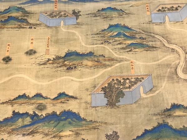 入藏故宫的《丝路山水地图》什么来头?