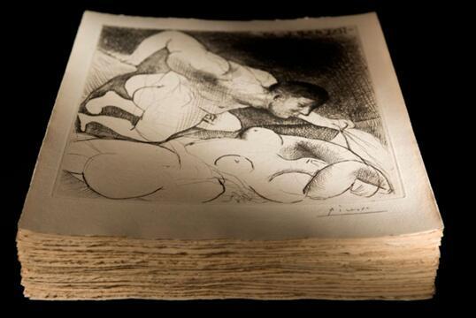 世界艺术大师毕加索系列蚀刻版画竞得近 200 万欧元