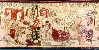 玛雅文明中的月神玉兔