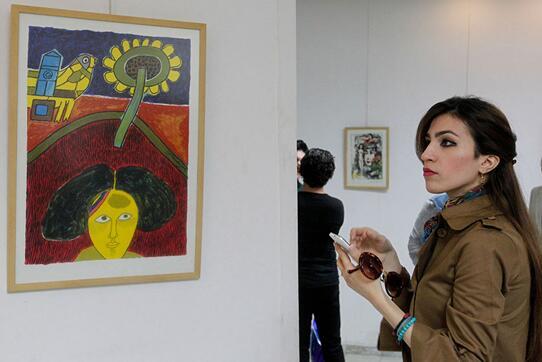 毕加索等世界名家杰作在伊拉克首都惊艳亮相