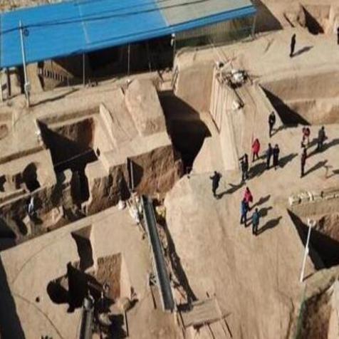 宁夏发现商周大墓 3000年前古代景象出土