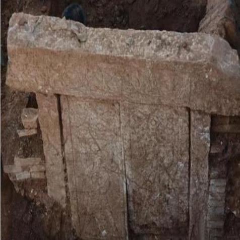 安徽萧县发现一座汉画像石墓