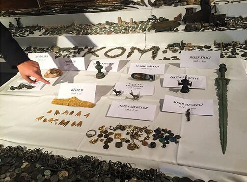 土耳其警方加大查处走私力度查获 2.6 万件珍贵文物
