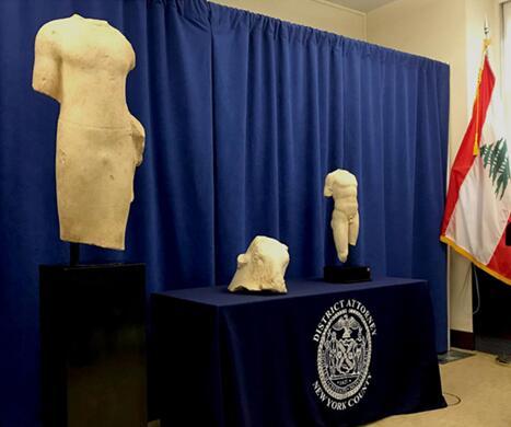 美国将黎巴嫩内战期间被盗文物珍品物归原主