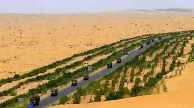 轮台名片NO5:沙漠公路