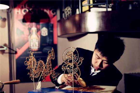 云阳糖画制作传统手工技艺入选县级非物质文化遗产名录