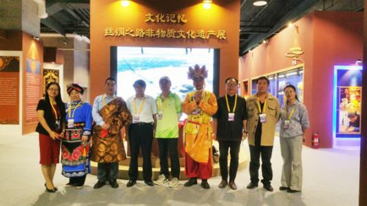 中国丝绸之路非物质文化遗产展在京开展
