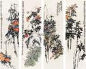 近现代书画领风骚 当代绘画强势崛起