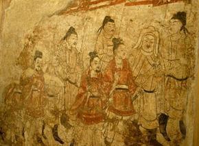 考古技术+博彩娱乐让墓葬壁画重生