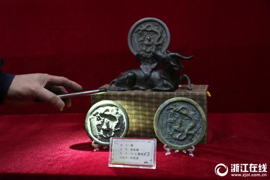 [湖州]300面铜镜展示中国千年文化