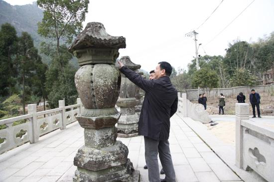 [温州]市文广新局检查苍南、平阳文物安全工作