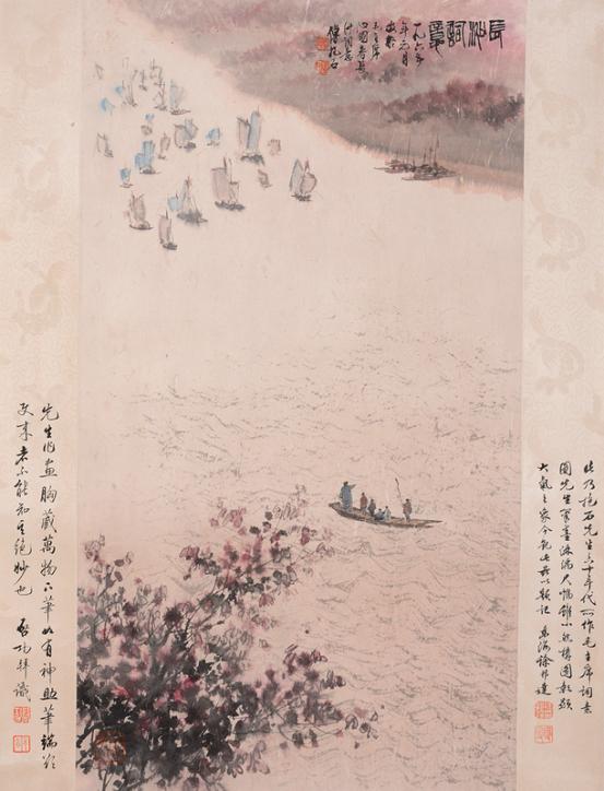 毛主席诗意画其艺术价值与市场价值已被众藏家确认与接受