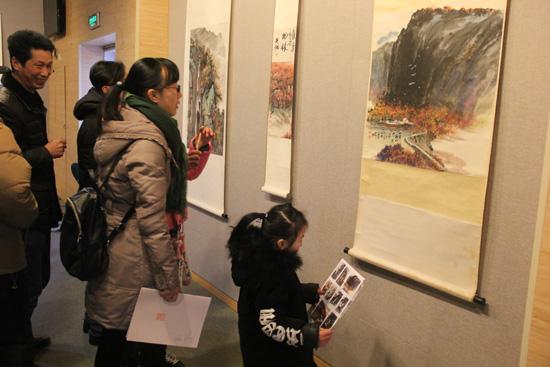 [兰溪]举办纪念吴湘诞辰九十周年国画展