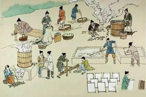 西汉古纸研究揭示造纸术起源