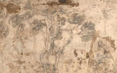 陕西关中西部发现唐代壁画墓 为湿壁作画