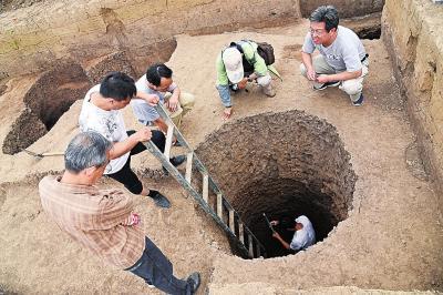 驻马店出土中国最早水井遗迹 距今近9000年