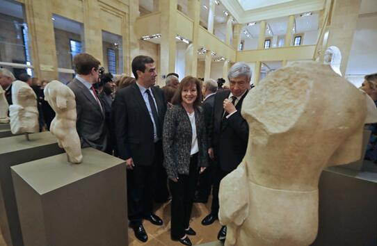 黎巴嫩国家博物馆公布追回的五尊内战期间失窃珍品