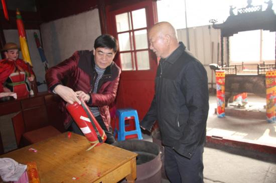 宁波各地持续开展春节前文物安全专项检查行动