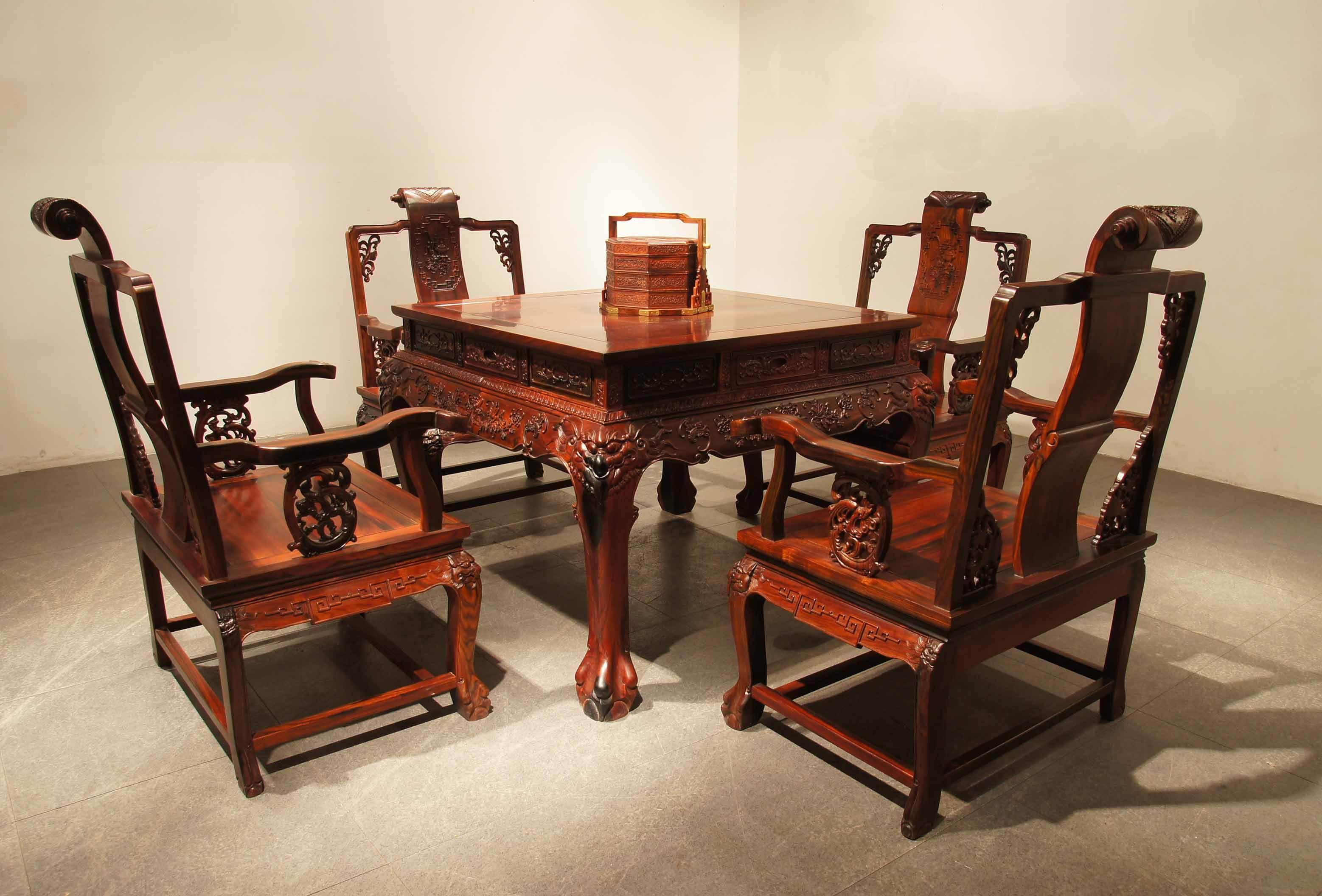 红木家具演绎中式生活