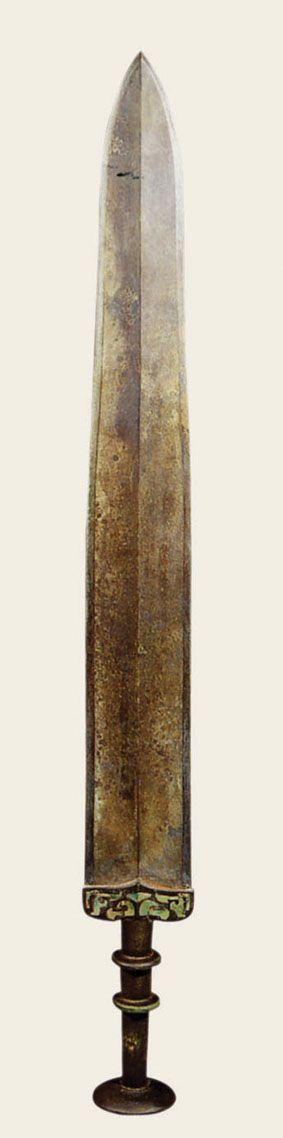 难觅绝品战国青铜剑