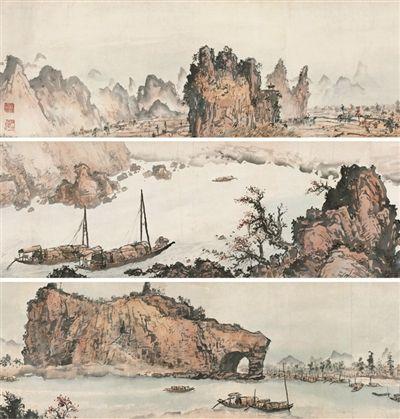 关山月与《漓江百里图》