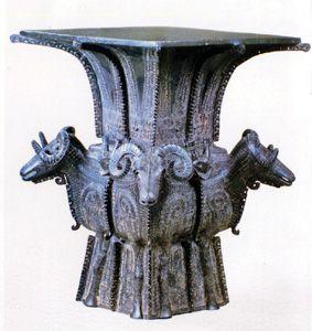 国宝重器商代青铜四羊方尊