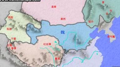 南北朝历史:上承东晋、五胡十六国,下接隋朝