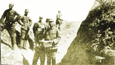 """血战南天门七昼夜,歼灭日本""""骷髅队""""全军"""