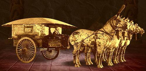 秦代铜车马