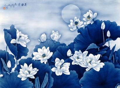 民国时期的陶瓷刷花艺术