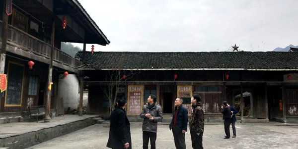 新化县文物管理所对辖区内各级文物保护单位开展安全大检查