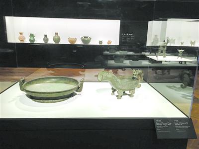 上海博物馆30件古代青铜器在芝加哥展出