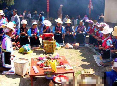 白族民俗风情——竹米酒