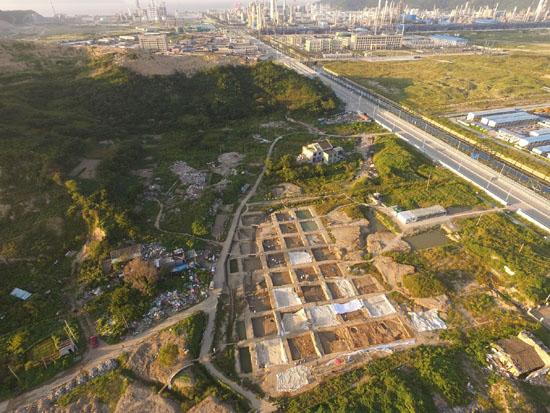 """大榭遗址入选""""2017年度全国十大考古新发现""""终评名单"""