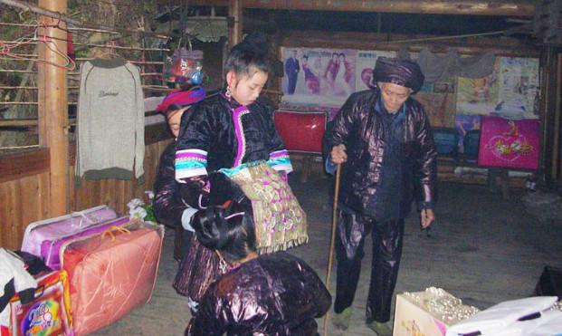 竹溪的送礼习俗