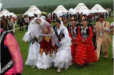 哈萨克族人的包办婚姻