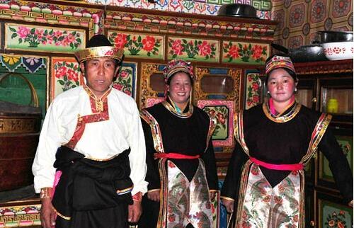 西藏门巴族舅舅的权威