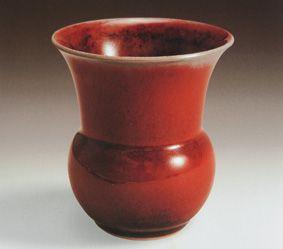 康熙晚期景德镇瓷器制作的巅峰:郎窑红釉欣赏