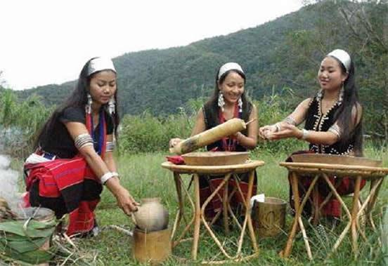 佤族的民族风俗