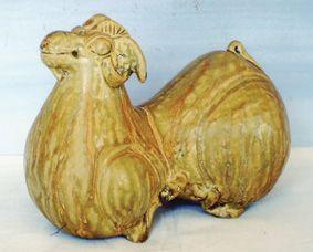 西晋婺州窑青瓷羊
